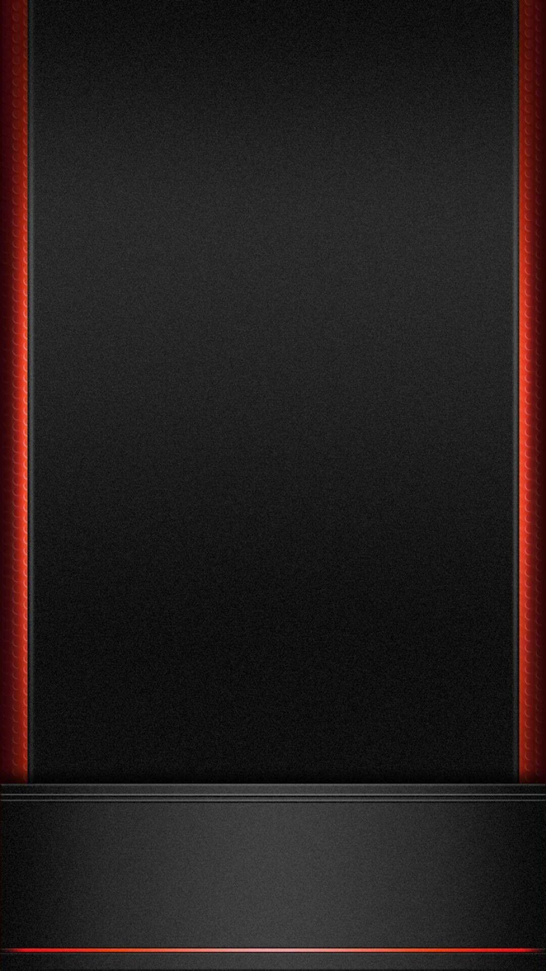 Black with Red Trim Wallpaper Black wallpaper, Supreme