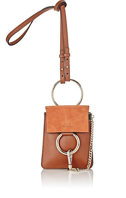 a32a8171d638 Chloé Faye Mini Leather Bracelet Bag   BAGS   Pinterest   Chloe