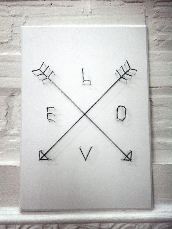 Love Arrows Poster 3D Strin - http://goo.gl/12EtPg