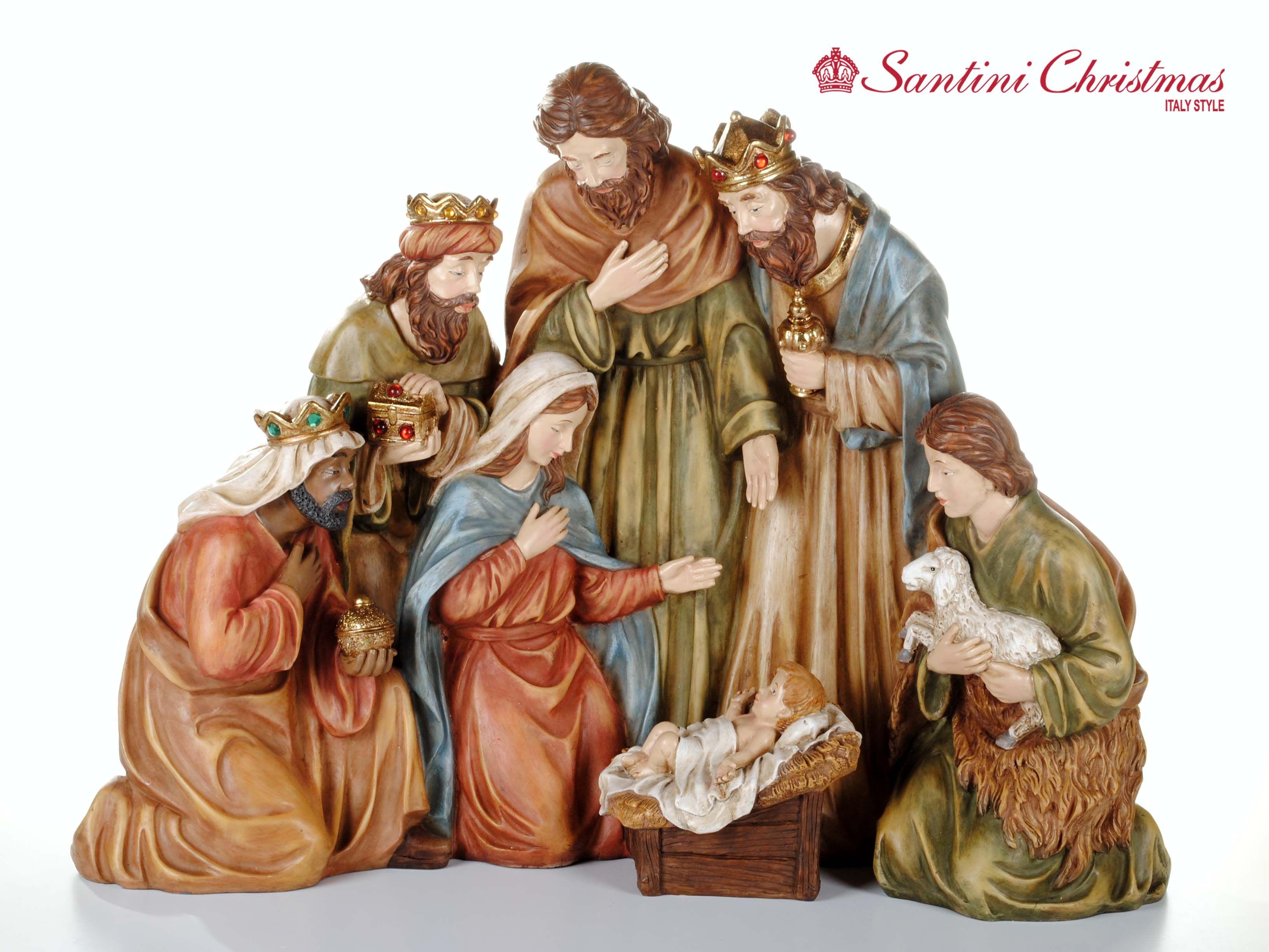 4f4c2e2914a Nacimiento   Nativity Set Piedras Pintadas