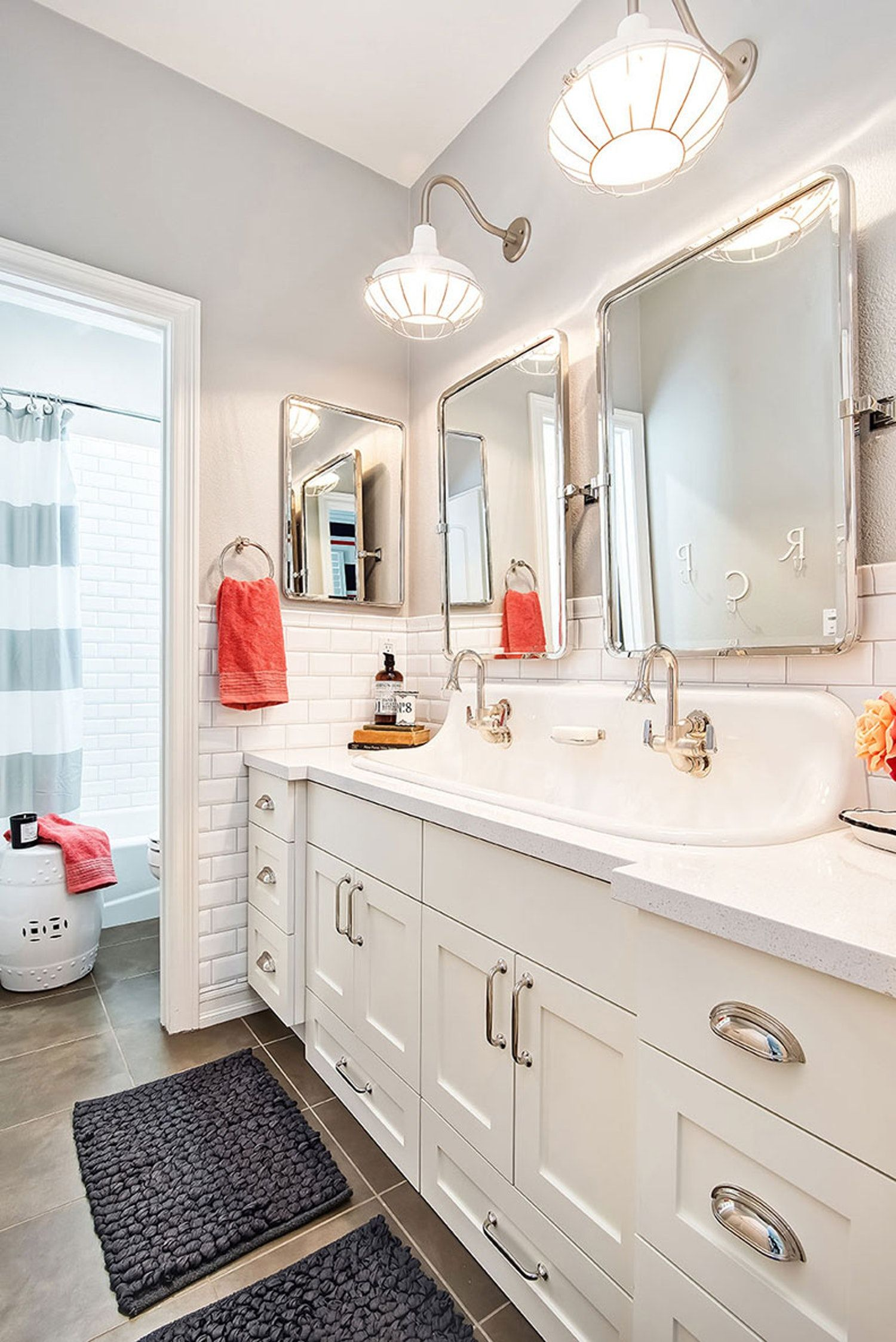 Beyond Mcmansions Rethinking The Double Sink Kids Bathroom