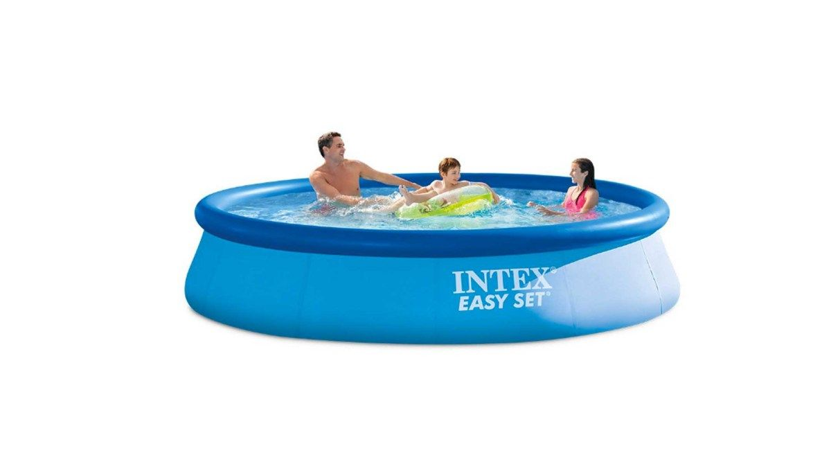 Intex Zwembad Kind Intex 12ft X 30in Easy Set Pool Set With Filter Pump For 55 52 At