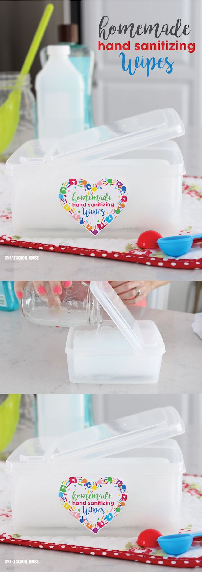 How to Make Hand Sanitizing Wipes at Home Homemade wipes