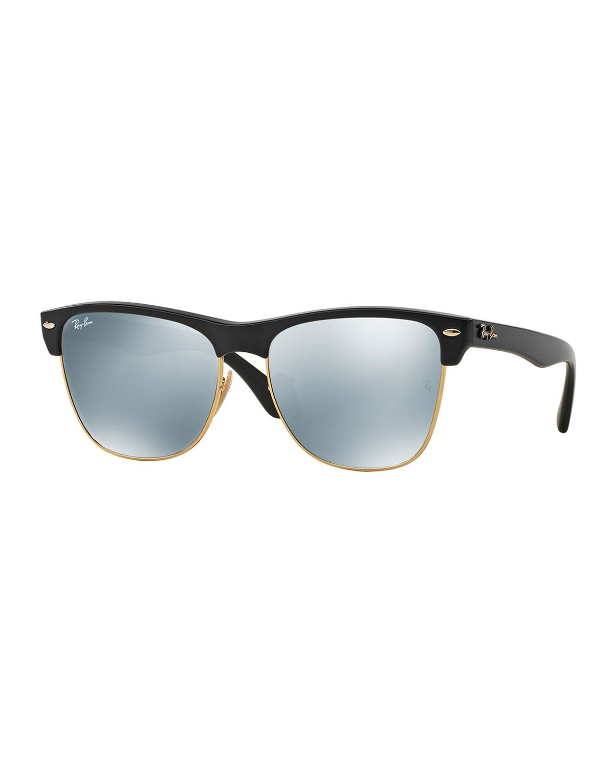 353a31bb17c689 Clubmaster Sunglasses with Mirror Lens