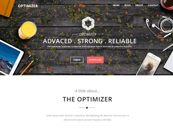 Optimizer — Temas de WordPress gratuitos http://templates ...