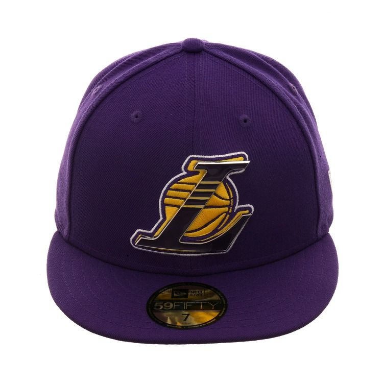 879be51854a New Era 59Fifty Los Angeles Lakers Metal Thread Hat - Purple in 2019 ...