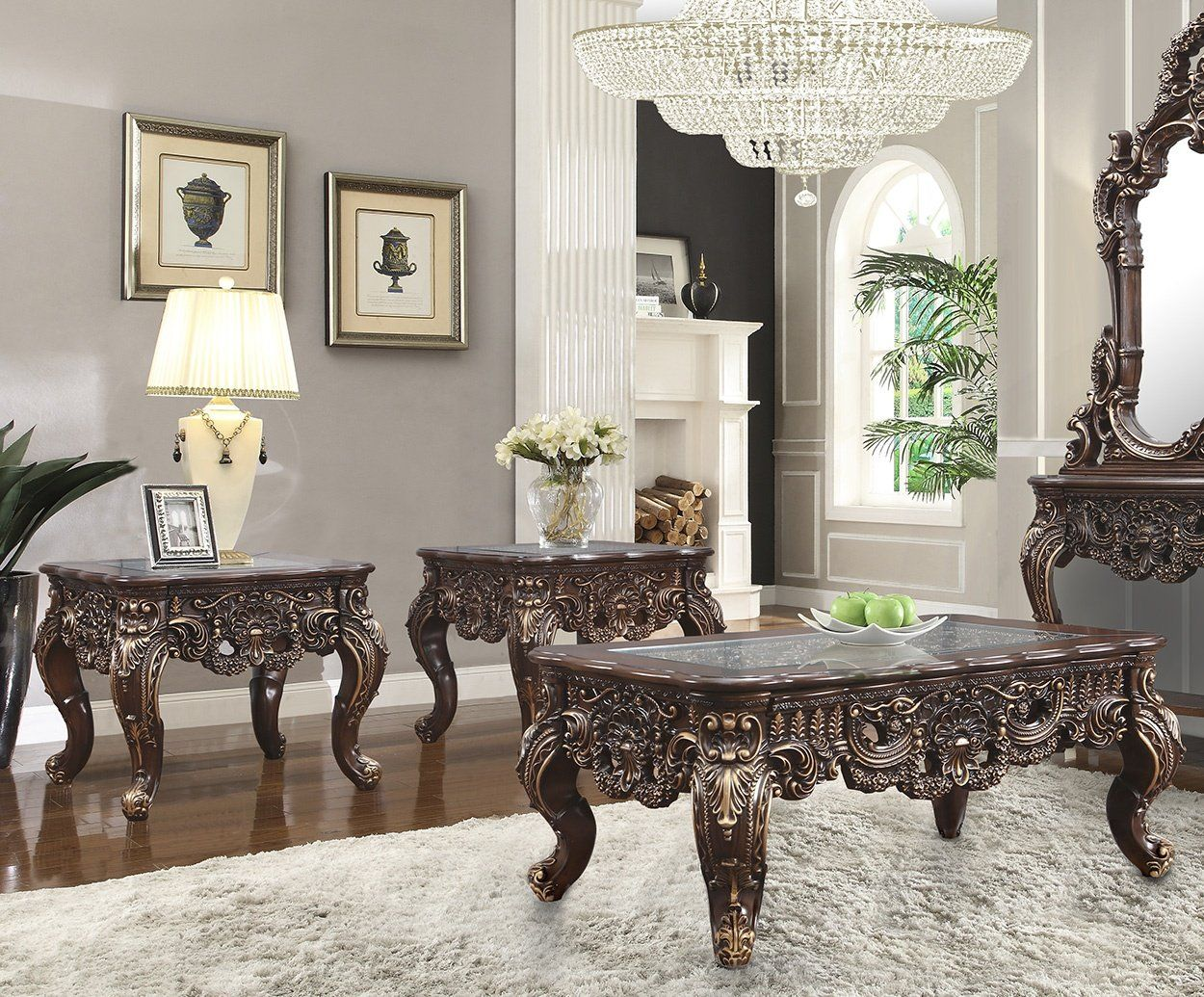 Hd 998c Occasional Collection In 2021 Formal Living Room Sets Traditional Coffee Table Walnut Coffee Table [ 1035 x 1250 Pixel ]