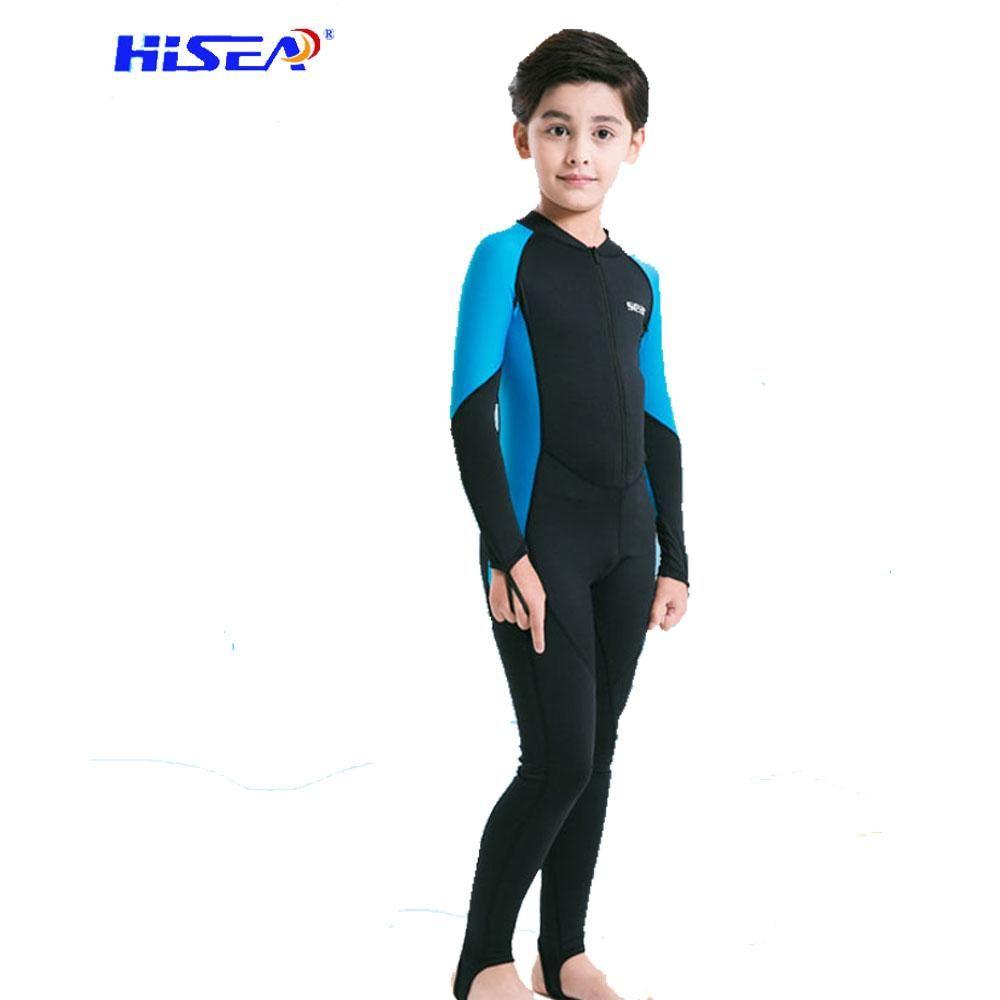 30d18c95c1 Hisea Neoprene Diving Boys Girls Wetsuit #潜水服#Diving#Wetsuit ...