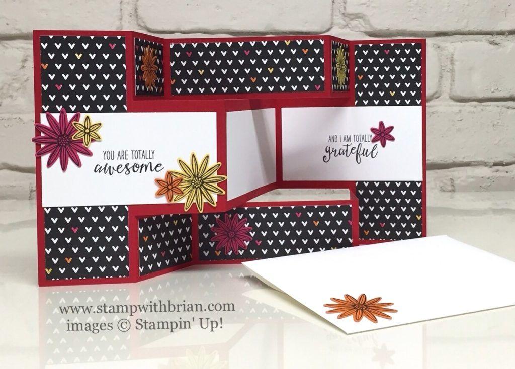 Tri-Fold with Grateful Bunch Bundle Pinterest Tri fold cards - tri fold card