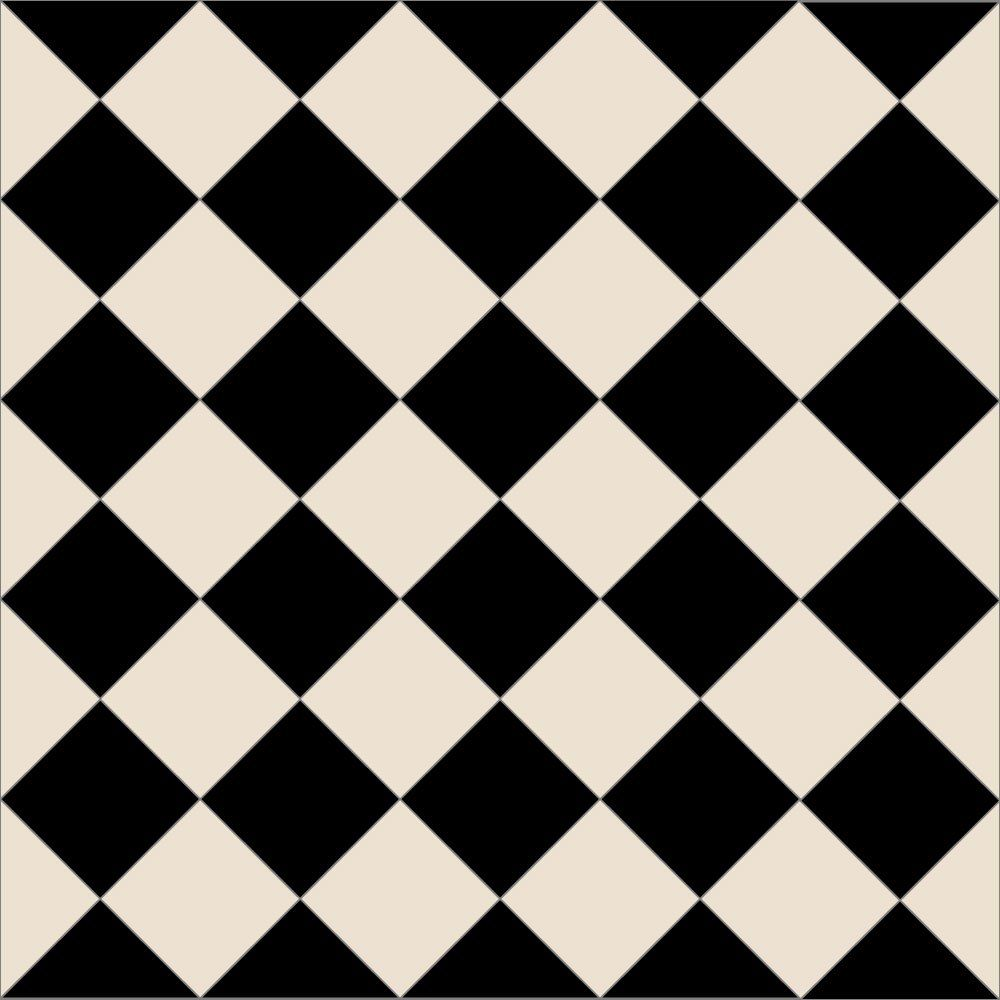 black and white diamond tile floor. Ennerdale 100 Geometric Floor Tiles Are Ideal For Larger Spaces, Lay In A Traditional Victorian Diamond Pattern Or Checkerboard Style Black And White Tile