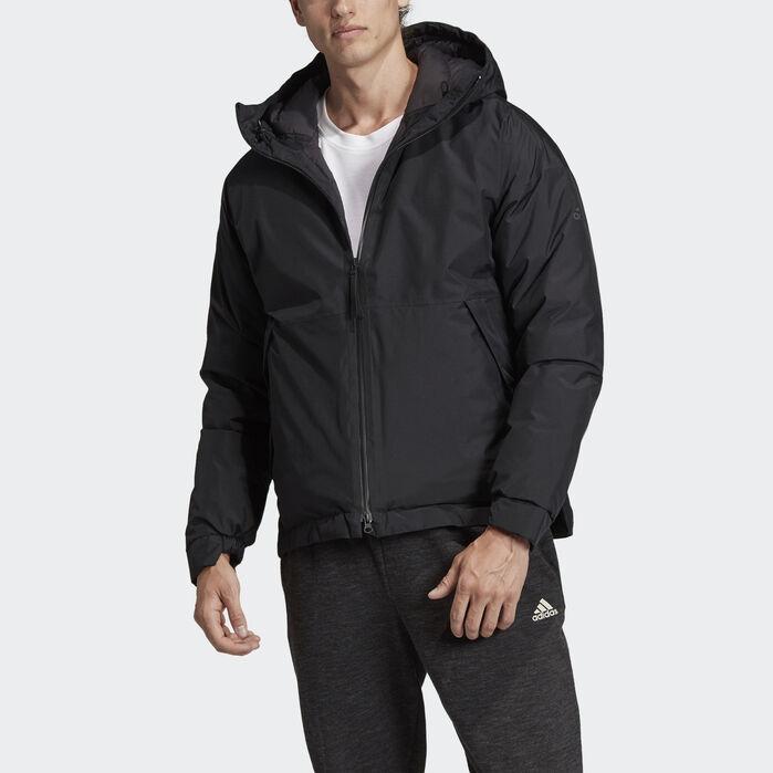Urban Insulated Rain Jacket Black Mens   Jackets, Rain