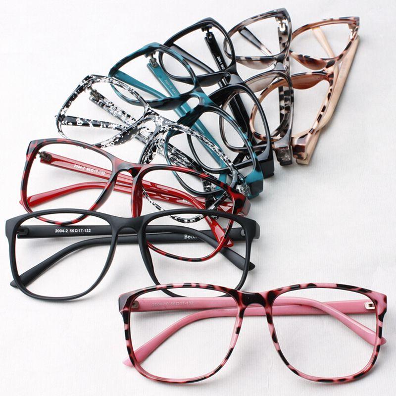 Ralferty Moda Mujer Leopardo Decora Eyewear Gafas de Marco ...