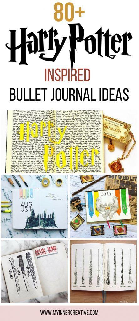 80 Harry Potter Inspired Bullet Journal Spreads Discoverbulletjournal Bulletjournaladdict Bulletjournali Journaling Ideen Planer Ideen Bullet Journal Ideen
