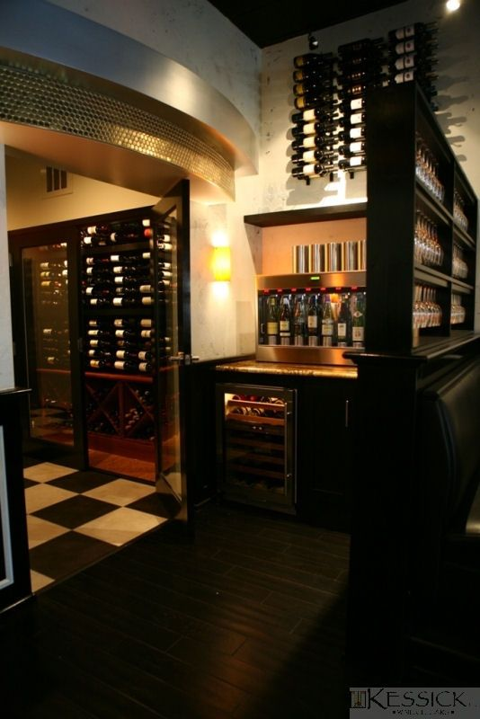 Kessick Wine Cellars - modern design & Kessick Wine Cellars - modern design | Contemporary Wine Racking ...
