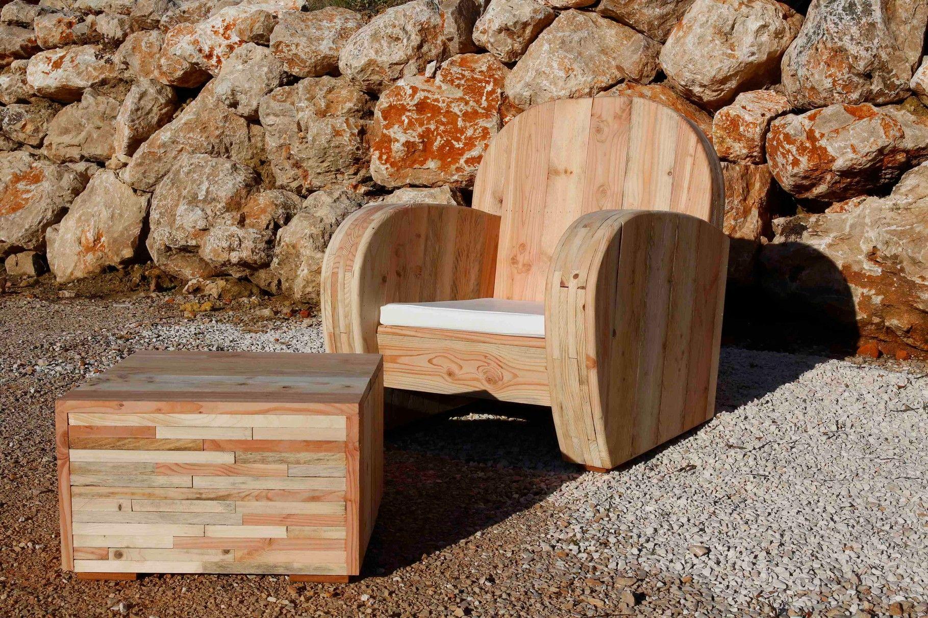 PATOU - WOOD - meuble design en bois recyclé   Sièges   Mobilier de ...