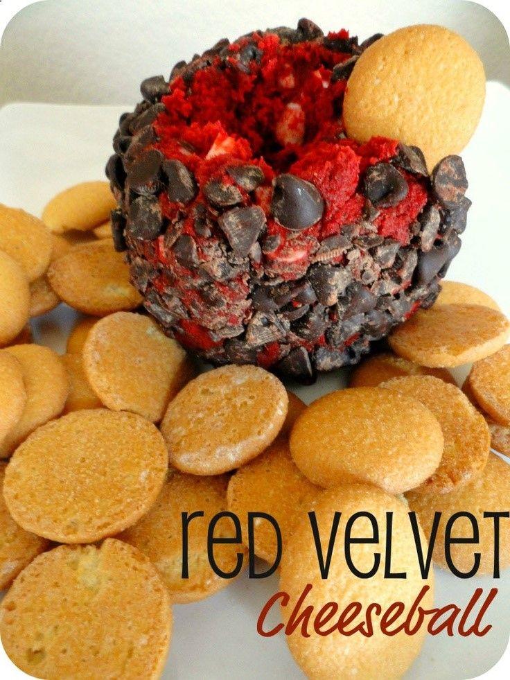 red velvet cheeseball