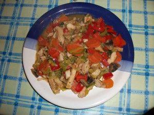 Chicken-Gemüse-Pfanne