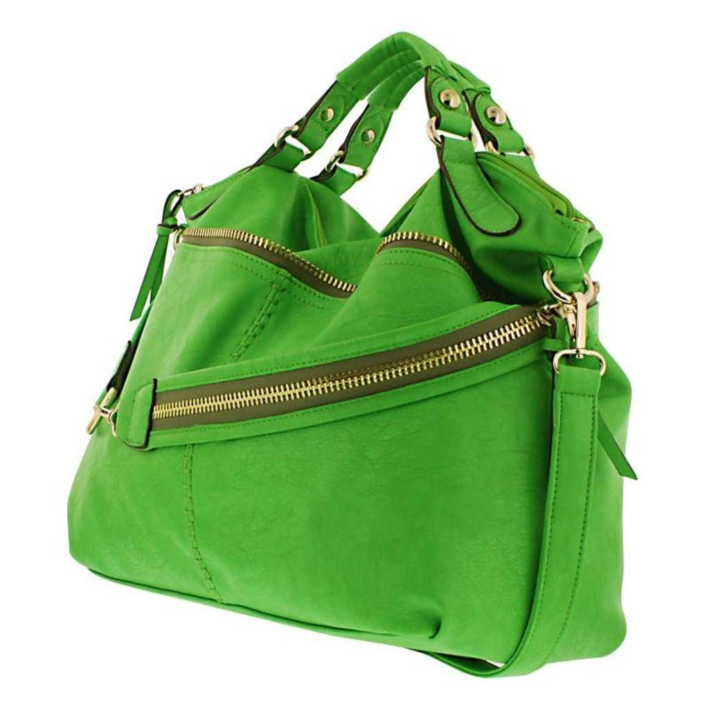 """""""As part of our """"Uptown Urban"""" collection the Fergie is truly a gem. This over-sized hobo bag is one of our most popular bags of the season because it's a 3 in 1 superstar!"""" Come Visit Our New Website: http://www.bowdenco.com"""