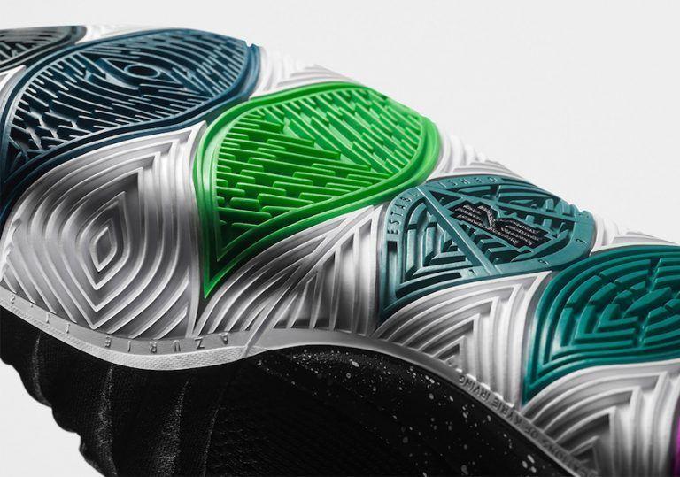 another chance 1db60 d15e3 Nike Kyrie Irving 5 V Black Magic Multi-Color White AO2918-901 Mens