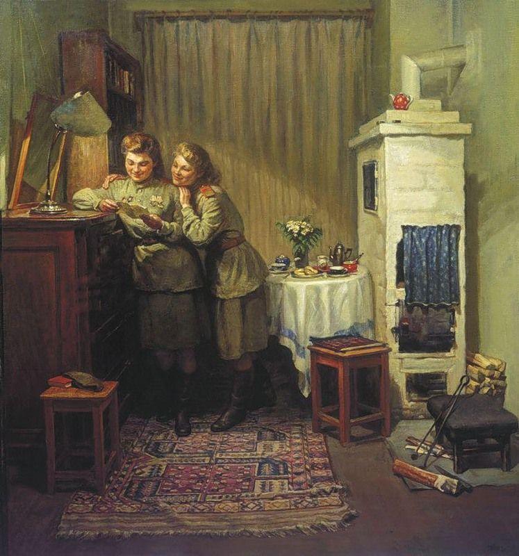 советский быт в картинах художников своем добеременном весе