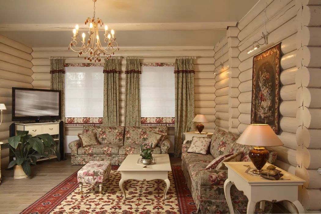 москве бревенчатый дом в стиле кантри фото горячую