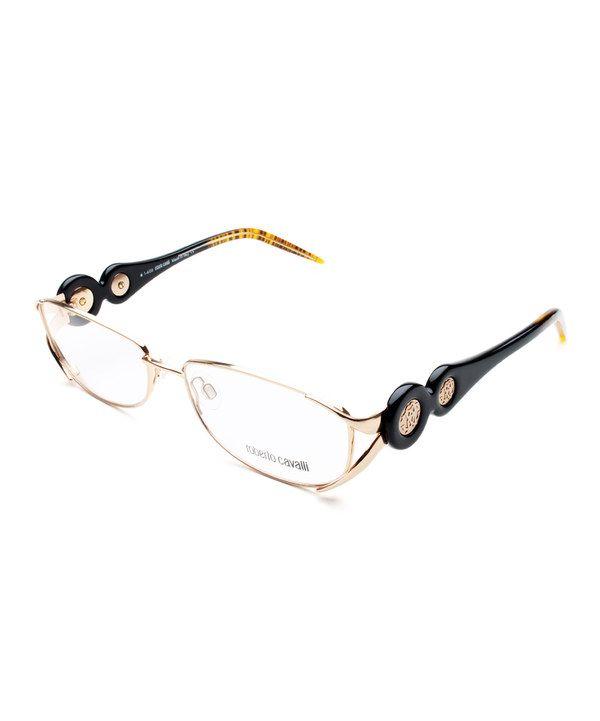 b6fdf8960ade Loving this Roberto Cavalli Gold   Dark Brown Petunia Eyeglasses on  zulily!   zulilyfinds