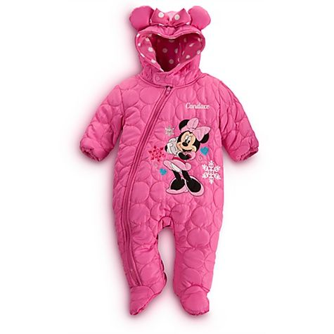 ce889f3f5 Minnie Mouse Snowsuit for Baby - Personalizable