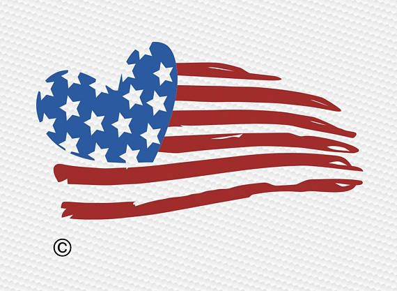 46e4d05adb6 Distressed american flag svg