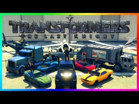 """cool GTA ONLINE """"TRANSFORMERS"""" SPECIAL - THE LAST KNIGHT, OPTIMUS PRIME VS MEGATRON, BUMBLEBEE & MORE!"""