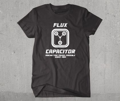 Awesome Flux Capacitor Back to the Future T-Shirt