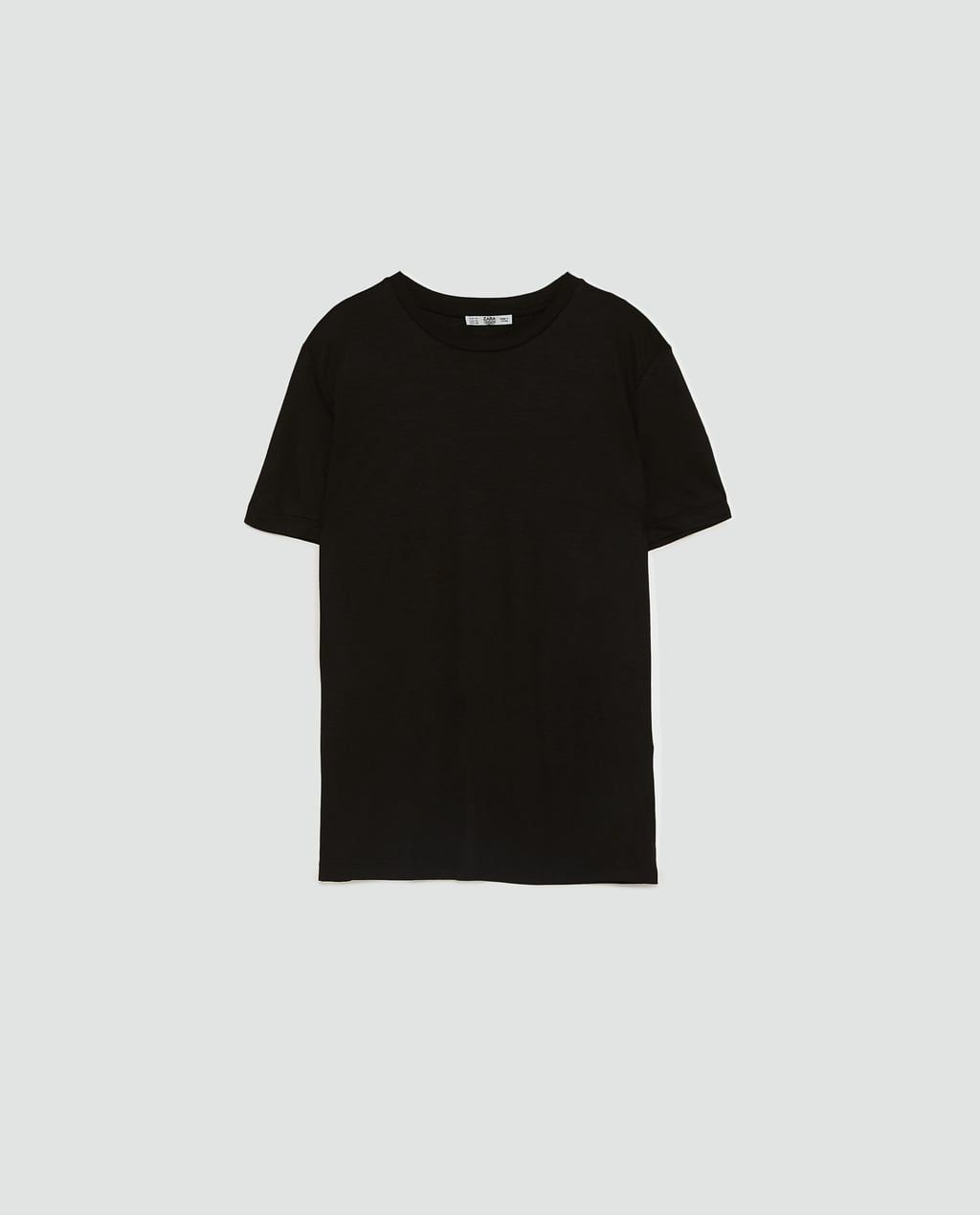 7beebc12a7d Image 8 of MERCERIZED VISCOSE T-SHIRT from Zara | new work closet ...