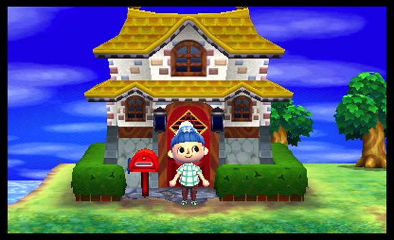 cool house on animal crossing new leaf