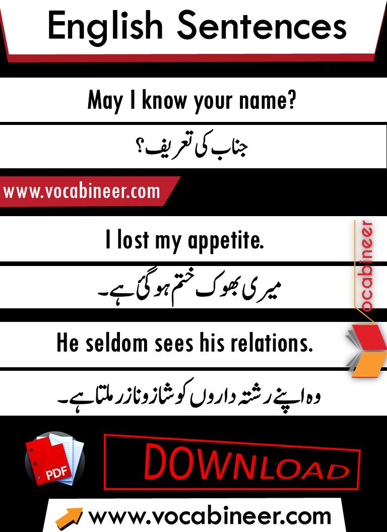 English to Hindi conversation PDF, English speaking course