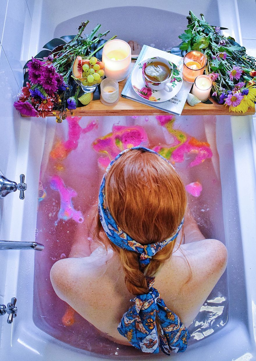 Image result for hippie bubble baths
