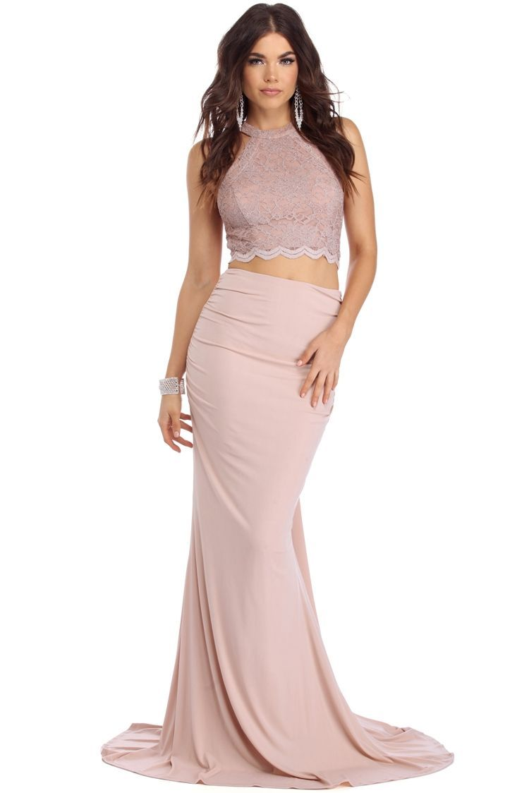 Nailah Mauve Two Piece Dress Windsorcloud Piece Prom Dress Womens Prom Dresses Prom Dresses Long [ 1124 x 750 Pixel ]
