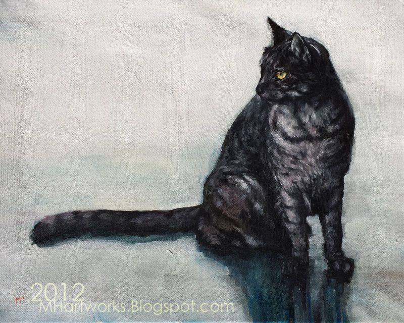 Dark Gray Tabby By Mhartwork Deviantart Com On Deviantart Grey