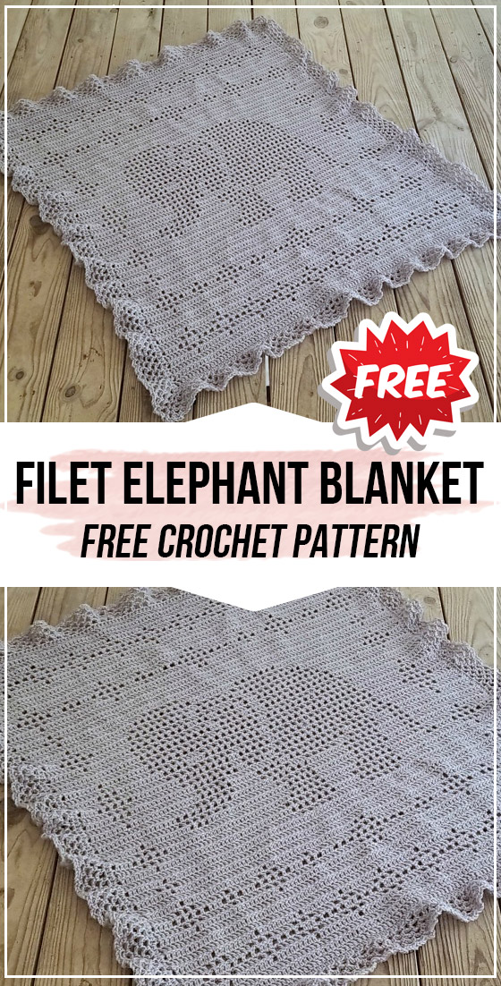 Cuddle and Play Elephant Blanket Pattern • Oombawka Design Crochet | 1102x560
