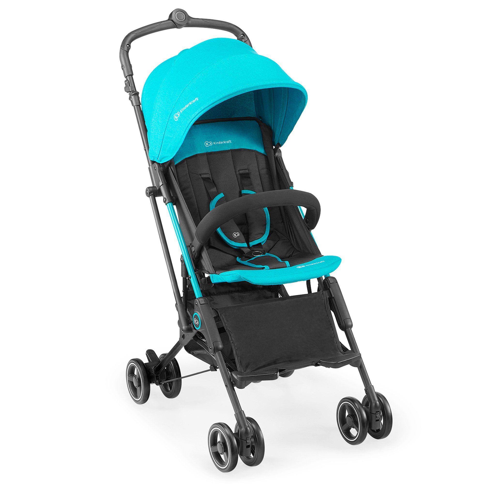 Für kleine und große Weltentdecker: Der kompakte und leichte Buggy Mini Dot von Kinderkraft ist die ideale Wahl für Ausflüge und Reisen.  Altersempfehlung: ab Geburt Belastbarkeit: bis 15 kg, Einkaufskorb bis 3 kg Verwendung: für die Stadt Klappmaß: 54(L) x 25(B) x 23(H) cm Gewicht: 5,6 kg Räder: gedämpfte Räder aus EVA-Schaumstoff, schwenk- und feststellbare Vorderräder Lieferumfang: Gestell mit Rädern und Korb, Sitz mit Verdeck und Sicherheitsbügel, Regenverdeck Gestell: Aluminium, Faltm