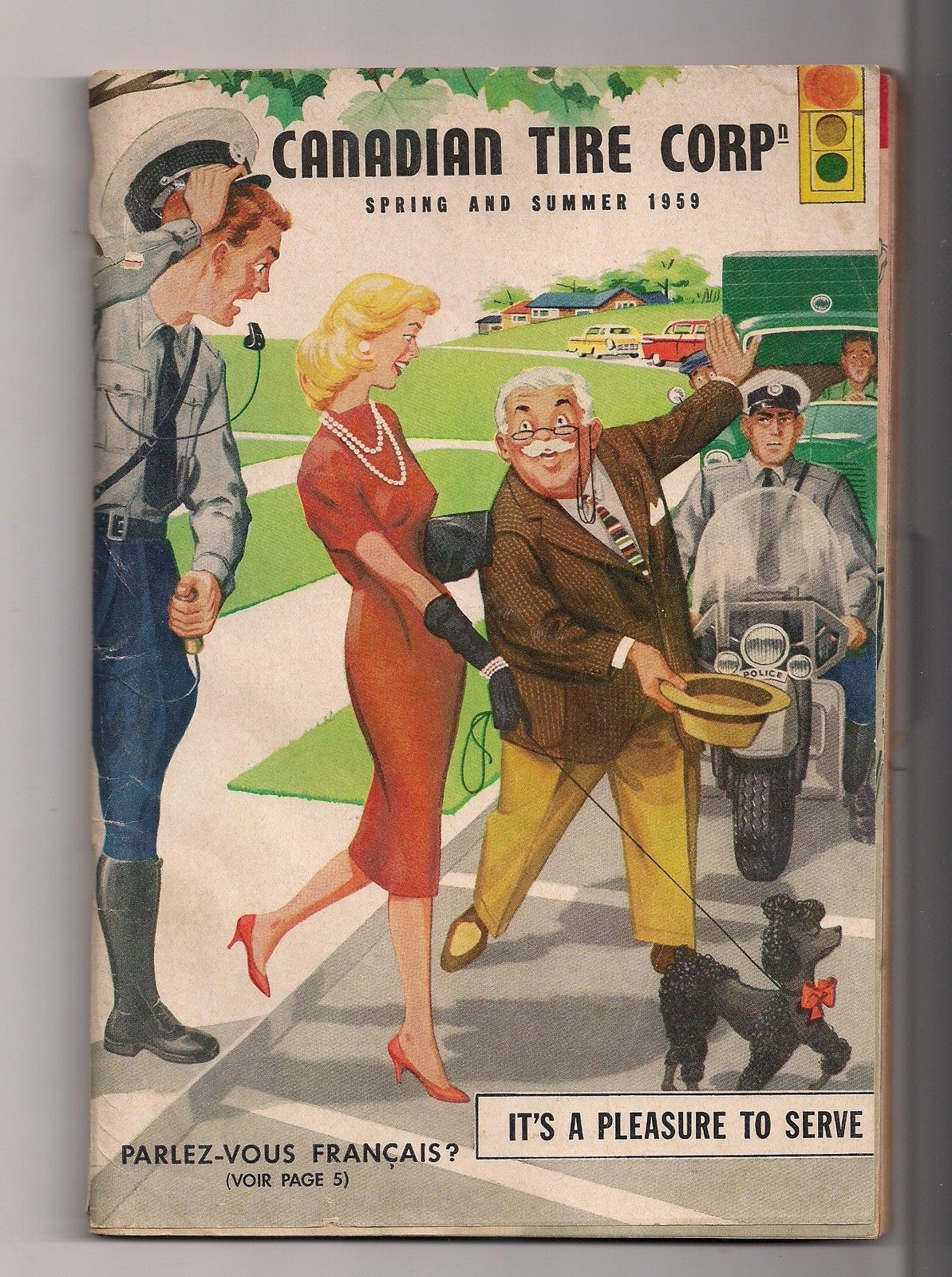 Pneu Robert Bernard >> 1959 Canadian Tire Catalog 162 Pages Front Page 3 inch ...