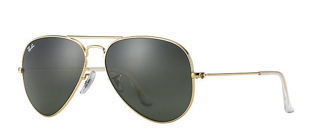 7c63bfacfc9 Ray-Ban RB3025 L0205 58-14 AVIATOR CLASSIC Gold sunglasses