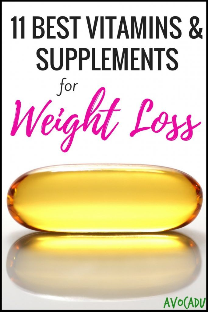 11 Best Vitamins And Supplements For Weight Loss Projects To Try