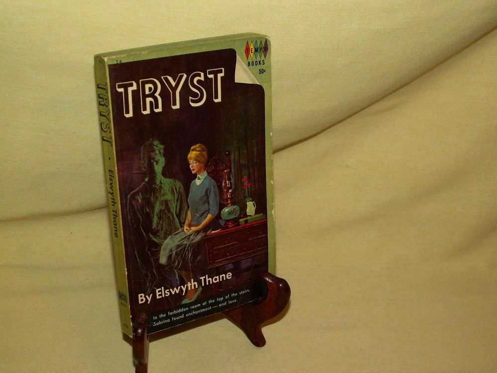 TRYST BY ELSWYTH THANE TEMPO BOOKS PB T4 4704 GROSSET DUNLAP COPY 1962 GHOST