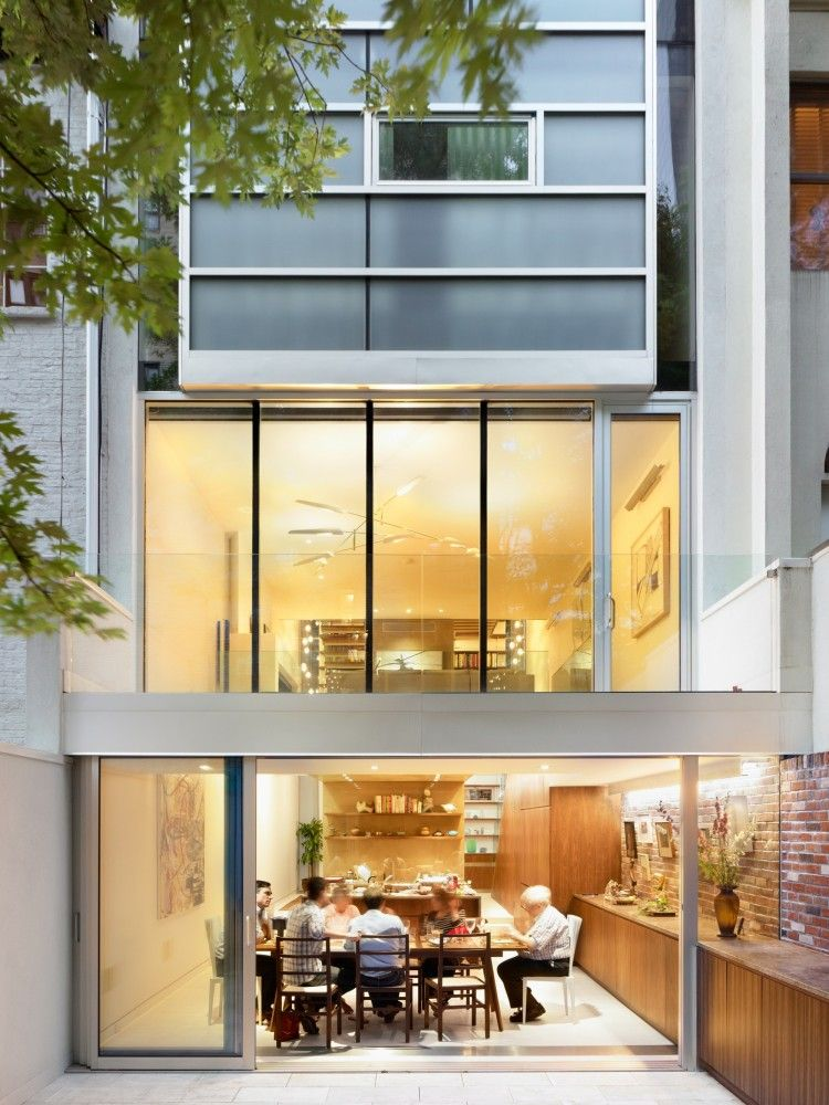 Gallery of Urban Townhouse / GLUCK+ - 4 | Townhouse, Urban and ...