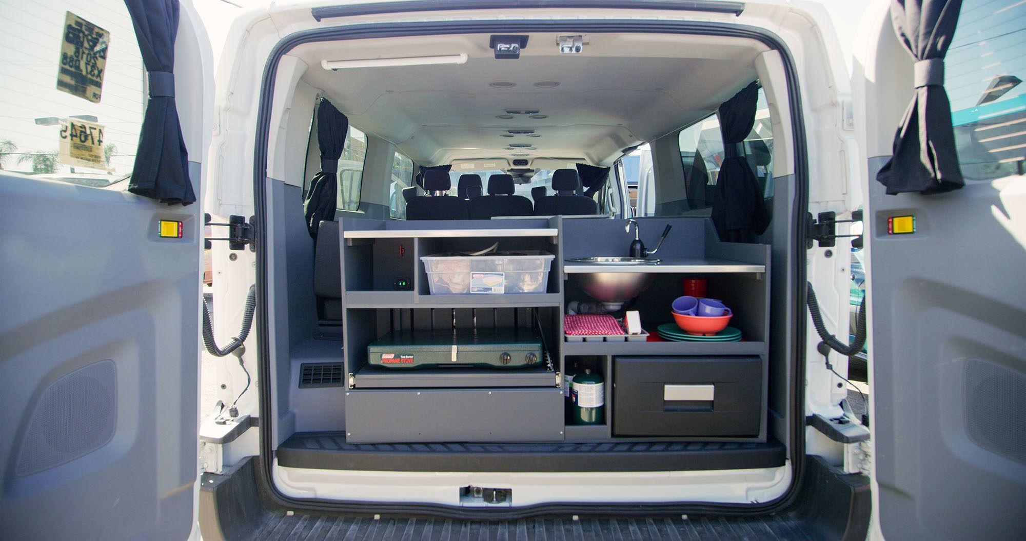 Big Sur - 5 Berth Campervan Rentals | Van Life | Campervan
