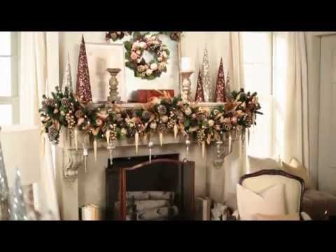 How to Decorate a Mantel for Christmas xmas idees Pinterest
