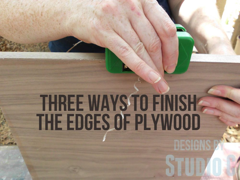 Photo of Three Ways to Finish the Edges of Plywood To me, plywood is the most economical …