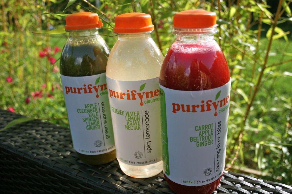 Purifyne Cleanse Organic juice detox diet Juice detox