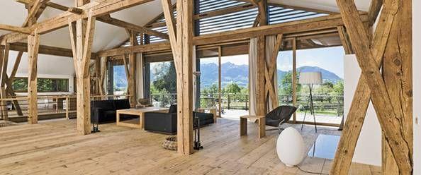altes bauernhaus wird modernes wohngebaeude bauernhaus modern pinterest bauernhaus alter. Black Bedroom Furniture Sets. Home Design Ideas