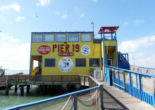 Pier 19 Restaurant Bar In South Padre Island Recommended By A Friend Who Grew