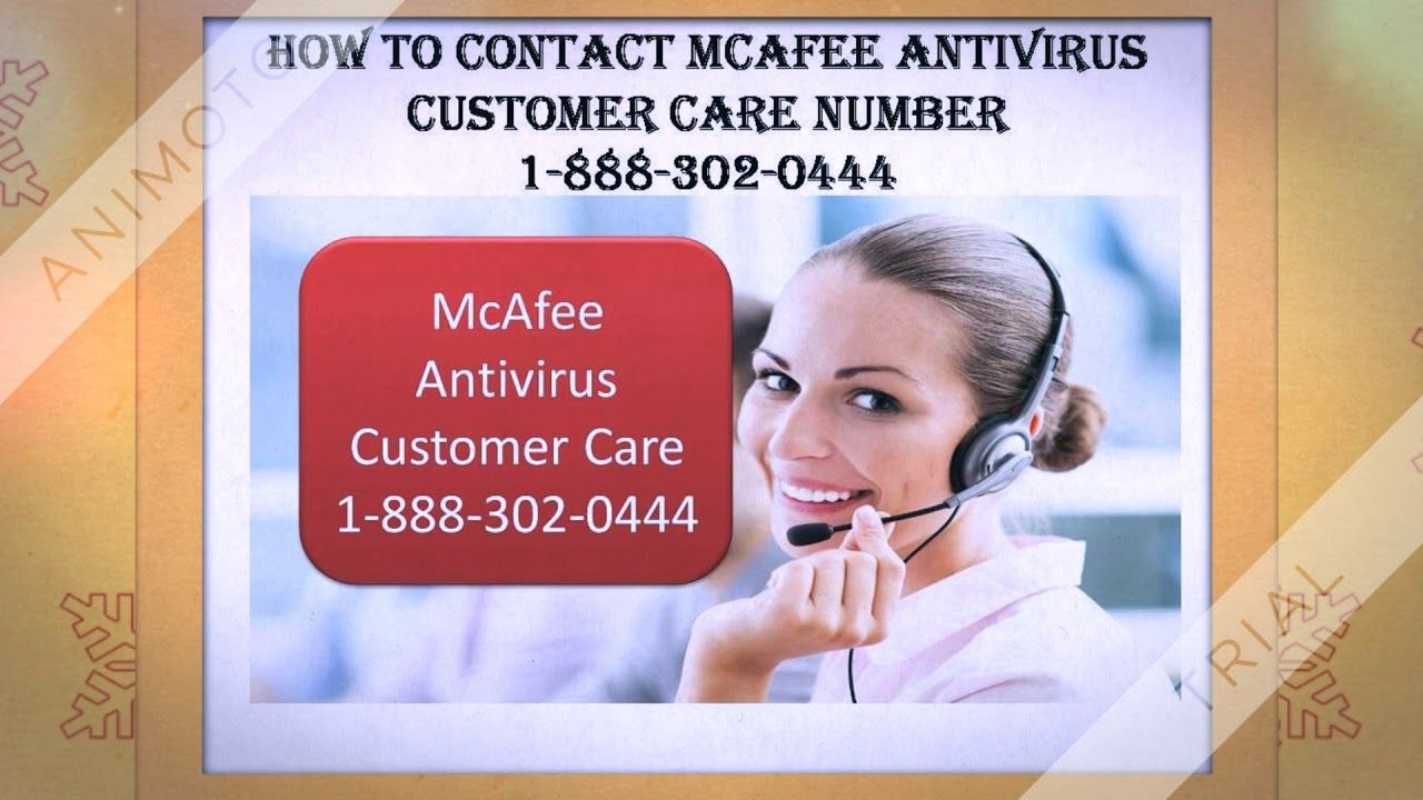 how to contact McAfee antivirus technical support number 1